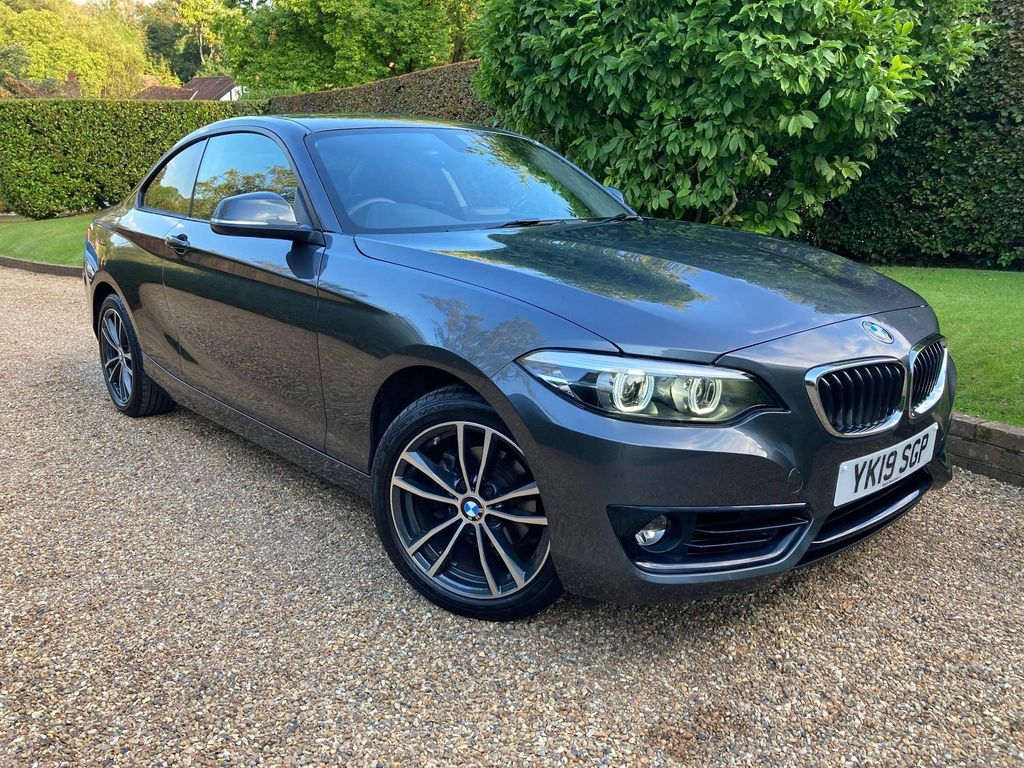 BMW 2 Series Coupe 1.5 218i GPF Sport (s/s) 2dr