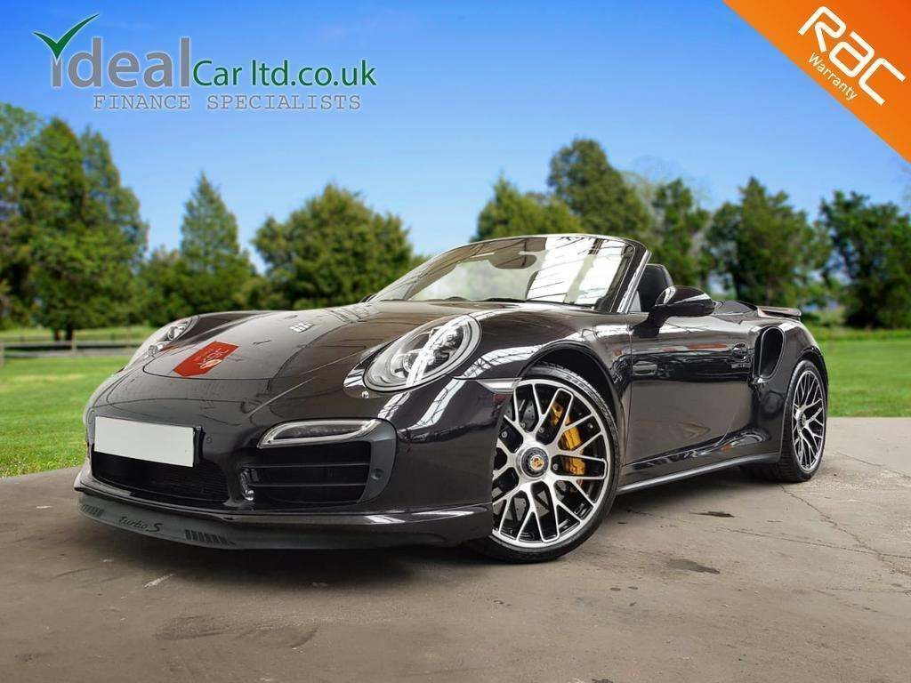 Porsche 911 Convertible 3.8 991 Turbo S Cabriolet PDK AWD 2dr
