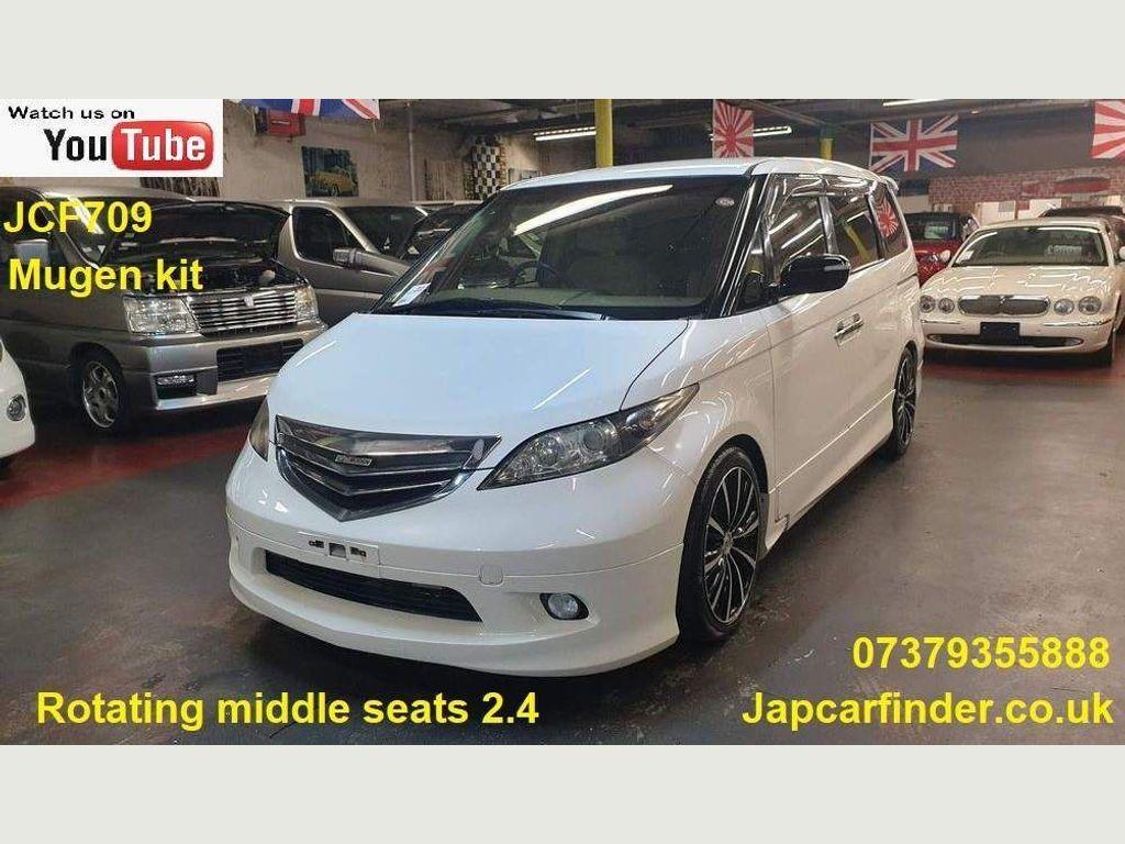 "Honda Elysion MPV Mugen Body 19"" alloys back facing seats"