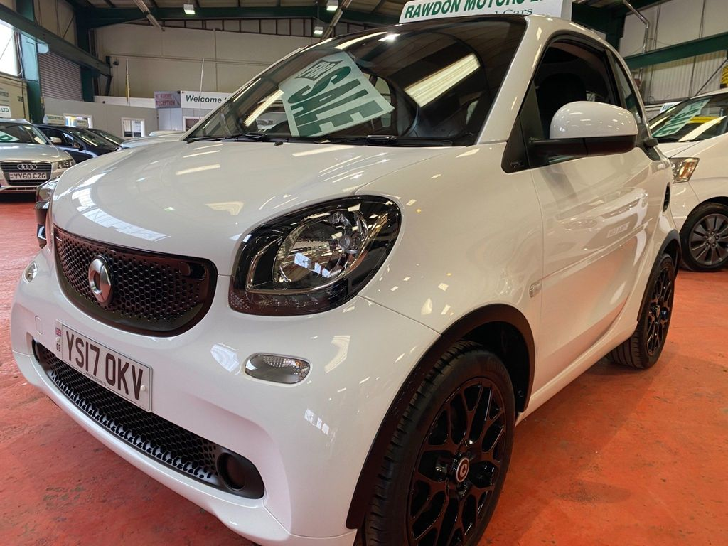 Smart fortwo Coupe 1.0 Prime Sport (s/s) 2dr