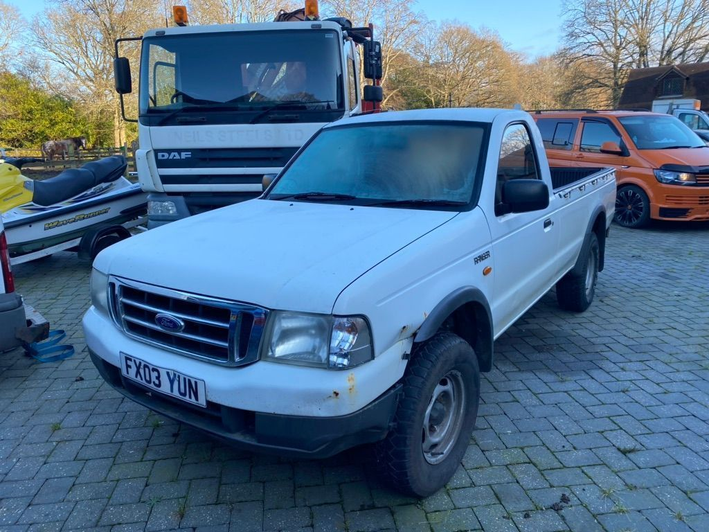 Ford Ranger Pickup 2.5 TDdi Regular Cab Pickup 4x4 2dr