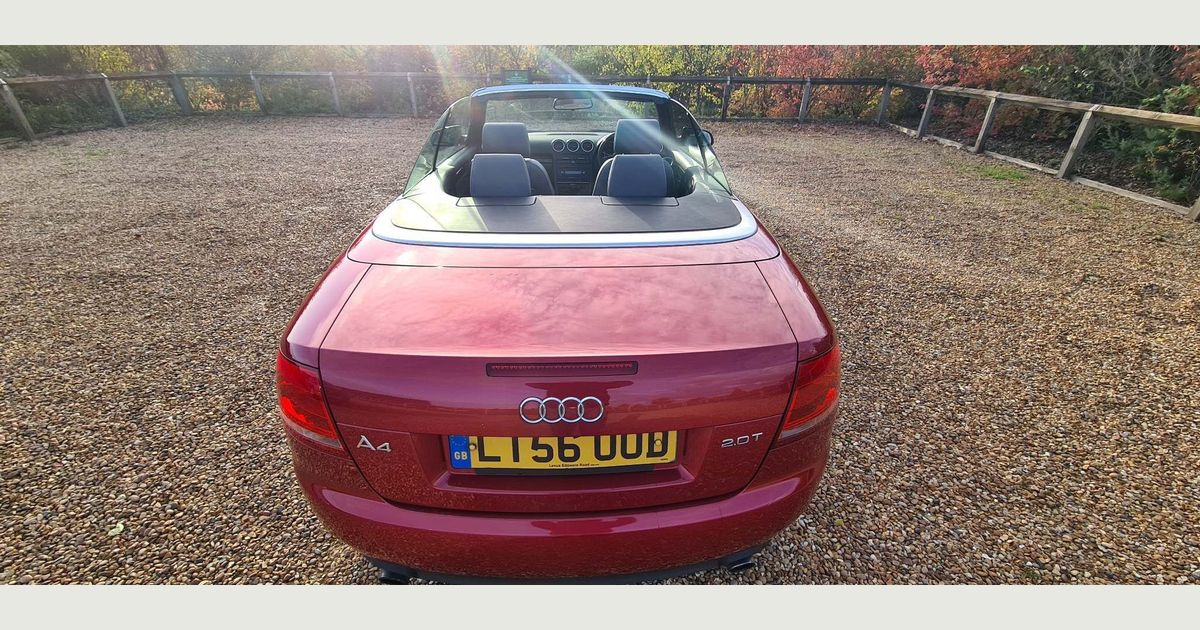 Used Audi A4 Cabriolet Convertible 2 0 Tfsi Sport Cabriolet Multitronic 2dr In Rainham Havering Bk Motors