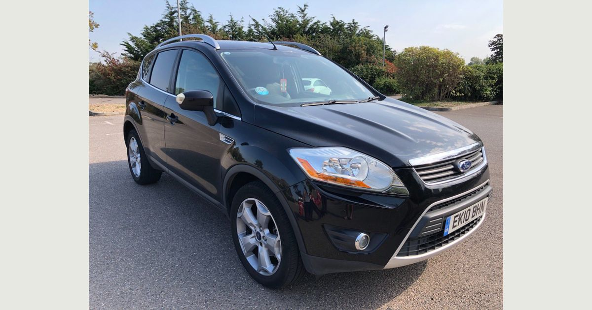 Used Ford Kuga Suv 2 0 Tdci Zetec 5dr In Romford Havering Dgn Cars Limited