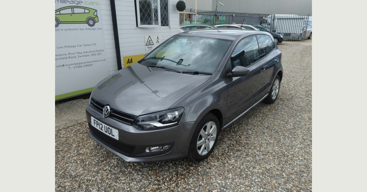 Used Volkswagen Polo Hatchback 1 4 Match 3dr In Swindon Wiltshire Low Mileage Cars Ltd