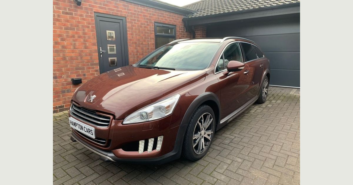 Used Peugeot 508 Sw Estate 2.0 Hdi Hybrid4 Rxh 4x4 5dr in ...