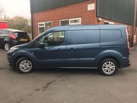 FORD TRANSIT CONNECT Panel Van 1.5 EcoBlue 240 L2H1 Limited Auto FWD (s/s) 5dr