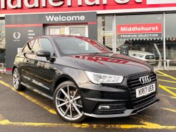 Audi A1 1.4 TFSI CoD Black Edition S Tronic (s/s) 3dr