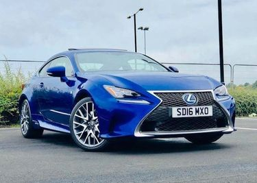 Used Lexus Rc 300h Coupe 2.5 300h F Sport Cvt (S/s) 2dr in North ...