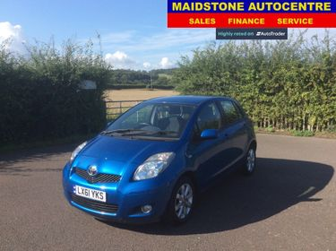 Used Toyota Yaris Cars For Sale In Maidstone Kent Maidstone Auto Centre