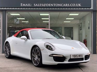 Used Porsche 911 Convertible 3 4 991 Carrera 4 Pdk 4wd S S 2dr In Otley West Yorkshire Denton Cars