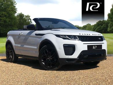 Range Rover Convertible For Sale >> White Diesel Land Rover Range Rover Evoque Convertible Used