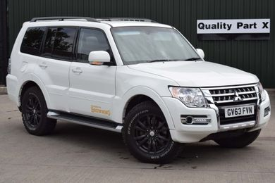 White Mitsubishi Shogun used cars for sale on Auto Trader UK