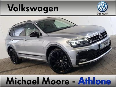 Michael Moore Athlone Volkswagen Tiguan Allspace R Line 7s 2 0 Tdi D7f Dsg 150bhp Black Pack Panoramic Sunroof Volkswagen Dealer Peace Of Mind Trade Ins Accepted 2021 211