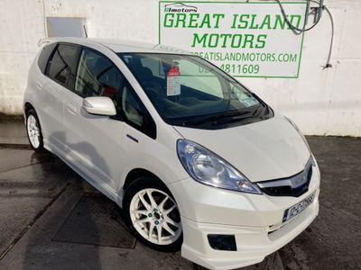 Honda FIT 1.3i HYBRID 5DR AUTOMATIC,Nct 12/21,€170 road tax (2012)