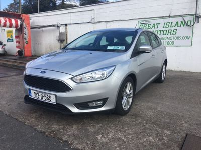 Ford Focus STYLE 1.5 TD 95PS 6SPEED 4 4DR (2018 (182))