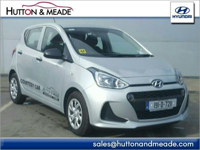 View Hyundai i10 Classic 1.0 Petrol used car from Hutton and Meade