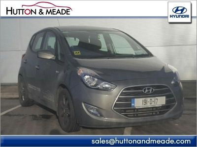 View Hyundai ix20 Deluxe Petrol used car from Hutton and Meade