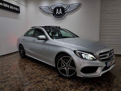Mercedes-Benz C Class Saloon 1.6 C200d AMG Line (Premium) G-Tronic+ (s/s) 4dr