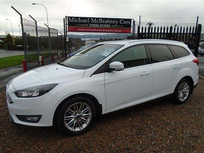Ford Focus Estate 1.5 TDCi Zetec Edition (s/s) 5dr