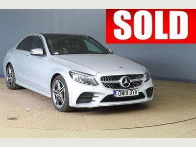 Mercedes-Benz C Class Saloon 1.5 C200 EQ Boost AMG Line (Premium Plus) G-Tronic+ (s/s) 4dr