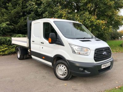 Ford Transit Chassis Cab 2.2 TDCi 350 1-Way Double Cab Tipper RWD L3 EU5 4dr (1-Stop)