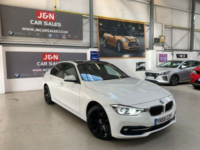 BMW 3 Series Saloon 2.0 320d BluePerformance Sport Auto (s/s) 4dr
