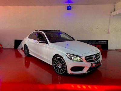 Mercedes-Benz C Class Saloon 2.1 C250 CDI BlueTEC AMG Line G-Tronic+ (s/s) 4dr
