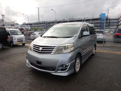 Toyota Alphard MPV Currently been camper converted