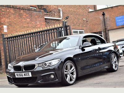 BMW 4 Series Convertible 2.0 430i M Sport 2dr