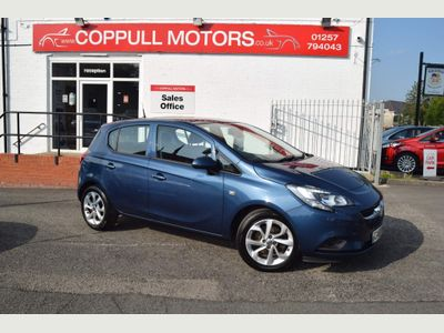 Vauxhall Corsa Hatchback 1.0i Turbo ecoFLEX Excite (s/s) 5dr (a/c)