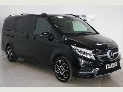 Mercedes-Benz V Class MPV 2.0 V220d AMG Line G-Tronic+ LWB EU6 (s/s) 5dr 8 Seat LWB