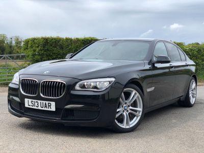 BMW 7 Series Saloon 3.0 730d M Sport Exclusive (s/s) 4dr