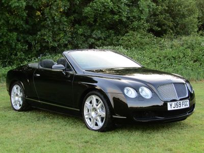 Bentley Continental Convertible 6.0 W12 GTC 2dr