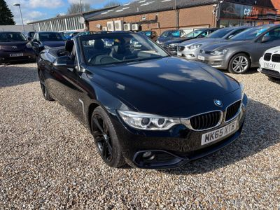 BMW 4 Series Convertible 2.0 420d Sport 2dr
