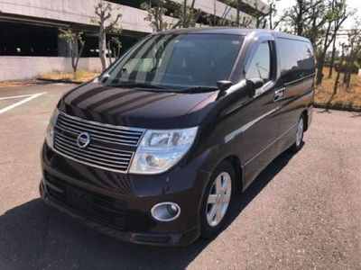 Nissan Elgrand MPV 360 CAMERAS RED LEATHERS HIGHWAYSTAR