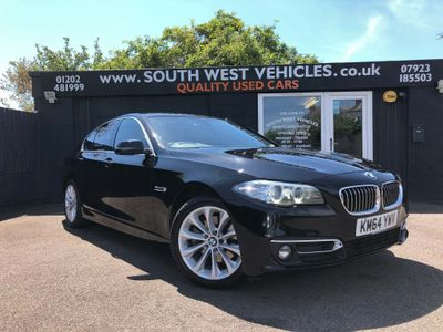 BMW 5 Series Saloon 2.0 518d Luxury 4dr