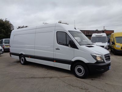 MERCEDES-BENZ SPRINTER Panel Van 2.1 CDI 314 High Roof Panel Van 5dr (EU6, XLWB)