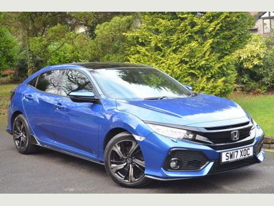 Honda Civic Hatchback 1.5 VTEC Turbo Sport Plus CVT (s/s) 5dr