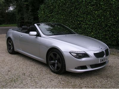 BMW 6 Series Convertible 3.0 635d Sport 2dr