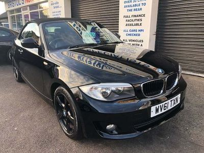 BMW 1 Series Convertible 2.0 118d Sport 2dr