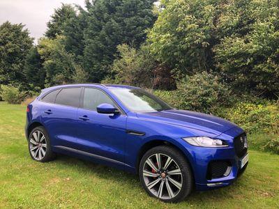 Jaguar F-PACE SUV 3.0d V6 S Auto AWD (s/s) 5dr
