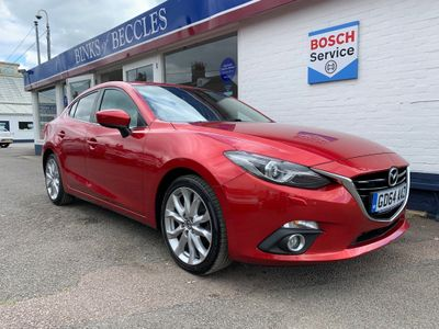 Mazda Mazda3 Saloon 2.2 TD SKYACTIV-D Sport Nav Fastback 4dr