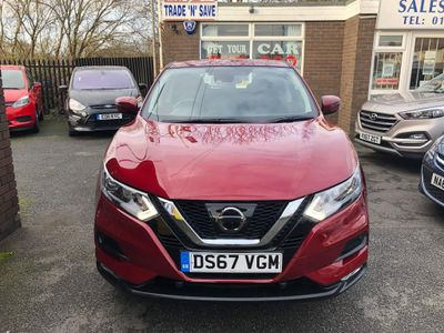 Nissan Qashqai SUV 1.2 DIG-T Acenta (s/s) 5dr