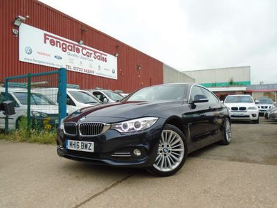 BMW 4 Series Gran Coupe Hatchback 2.0 418d Luxury Gran Coupe Auto (s/s) 5dr