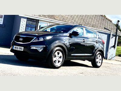 Kia Sportage SUV 1.7 CRDi EcoDynamics 1 2WD (s/s) 5dr