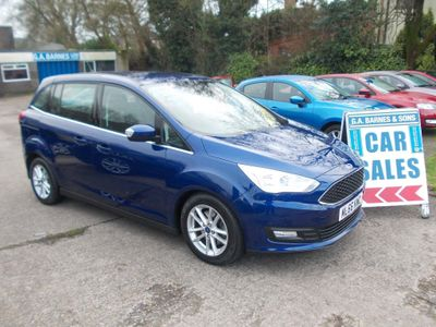 Ford Grand C-Max MPV 1.5 TDCi Zetec Powershift (s/s) 5dr (Nav)