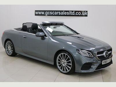 Mercedes-Benz E Class Convertible 3.0 E350d V6 AMG Line (Premium) Cabriolet G-Tronic+ 4MATIC (s/s) 2dr
