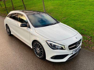 Mercedes-Benz CLA Class Estate 2.1 CLA220d WhiteArt Shooting Brake 7G-DCT (s/s) 5dr