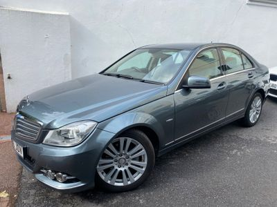 Mercedes-Benz C Class Saloon 1.8 C250 BlueEFFICIENCY Elegance 7G-Tronic 4dr