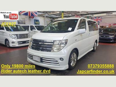 Nissan Elgrand MPV Rider Autech Only 19800 miles Leather